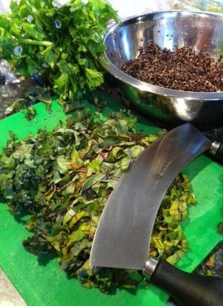 Quinoa and Kale