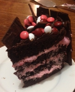 rasberry fudge cake_slice